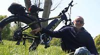 Artist offers £500 reward for return of electric bike