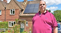 Neighbours come forward to help man targeted by rogue traders