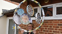 Hundreds follow outdoor art trail in aid of charities