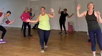 Dance classes resume at village hall after lockdown