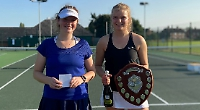 Father and daughter secure Shiplake singles titles