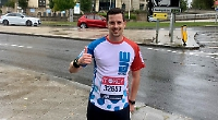 Water charity runner tops up his total to £35,000