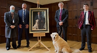 Portrait gift for dog-loving head