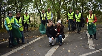Volunteers have the feelgood factor after picking litter