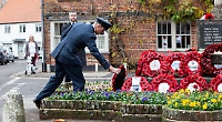 No parades as villages hold services and acts of remembrance at war memorials