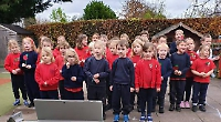 Pupils sing hymns and read prayers at virtual remembrance service