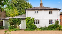 Grade-II listed cottage marries original features with modern refurbishments
