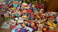 School collects mountain of goodies for food bank