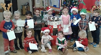 Children send their letters to Santa