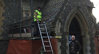 £10,000 repair of church roof before winter begins