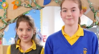 Caring girls excited to be chosen as school captains