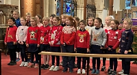 School carol concerts without audience