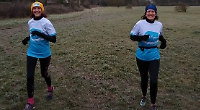 Women run 5km a day for month