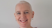 Woman who beat cancer has head shaved for charity