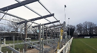 New stand is underway but cup competition fails to get off ground
