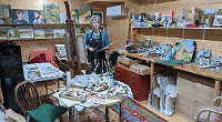 Landscape artist's source of inspiration is close to home