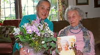 Campaigning villager celebrates her 112th birthday