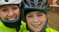 Teenager cycles 100 miles in two weeks for charity