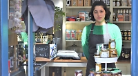 Teenager runs new cafe instead of going to university