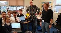 Pupils love learning again thanks to donated laptops