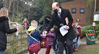 Parents happy to be sending children back to school