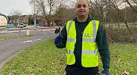 Pair keep fit and clean up neighbourhood by 'plogging'