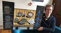 Painting lawyer thrilled at first art award in five years