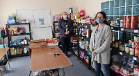 Food bank still helping needy families in pandemic thanks to £3,000 grant