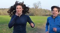Twins run 148km in aid of children with brain injury