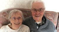 Couple celebrate 70 years of harmonious marriage