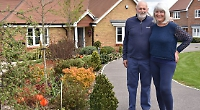 Couple who forgot entry win front garden competition