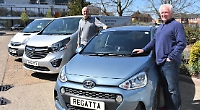 Friends launch vehicle hire business closer to home