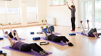 Pilates sessions are returning to real-life venues