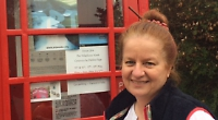 Potter opens shed studio in step up from former phone box