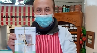 Cook book with recipes for hospital staff selling well