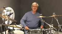 Veteran drummer's properly kitted out ahead of Mill gig