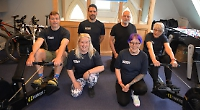 Novice rowers supported by expert for charity challenge