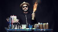 Graffiti stylist designed album cover for Madonna