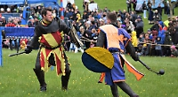 Jousting knights return to battle at Stonor Park estate