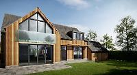 New-build's contemporary flair