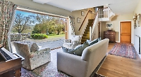 Five-bed family home enjoys views of unspoilt countryside
