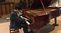 Pianist breaks silence in the most lyrical fashion