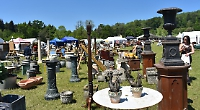Visitors flock to architectural salvage fair over holiday weekend