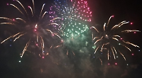 Festival chief defends use of fireworks