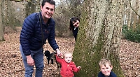 Woman creates woodland fairy trail for young nephews
