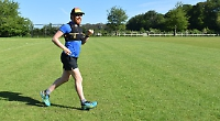 Charity runner waved off on 1,900-mile challenge
