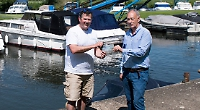 Mystery dinghy maker gives £2,000 proceeds to RNLI