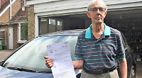 Patient wrongly sent parking fine warning