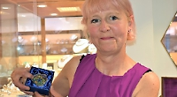 Jewellery raffle winner to sell prize for charity