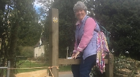 Librarian's 19th challenge in aid of cancer research with 40-mile coast walk